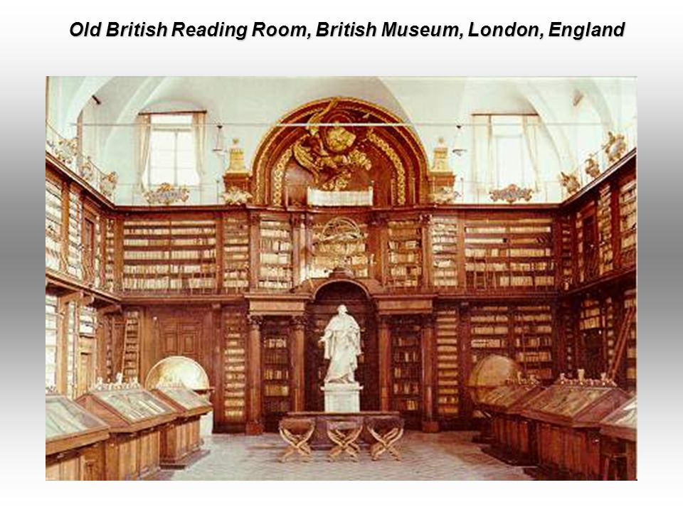 Old British Reading Room, British Museum, London, England