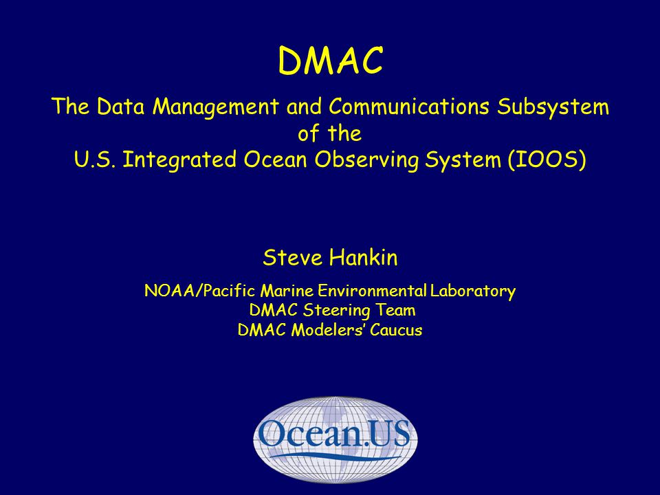 Nov '06TECO-WIS 2 GOOS - Global Ocean Observations GTSPP, ARGO, Satellites, VOS, others Why not do something comparable for the coastal ocean?