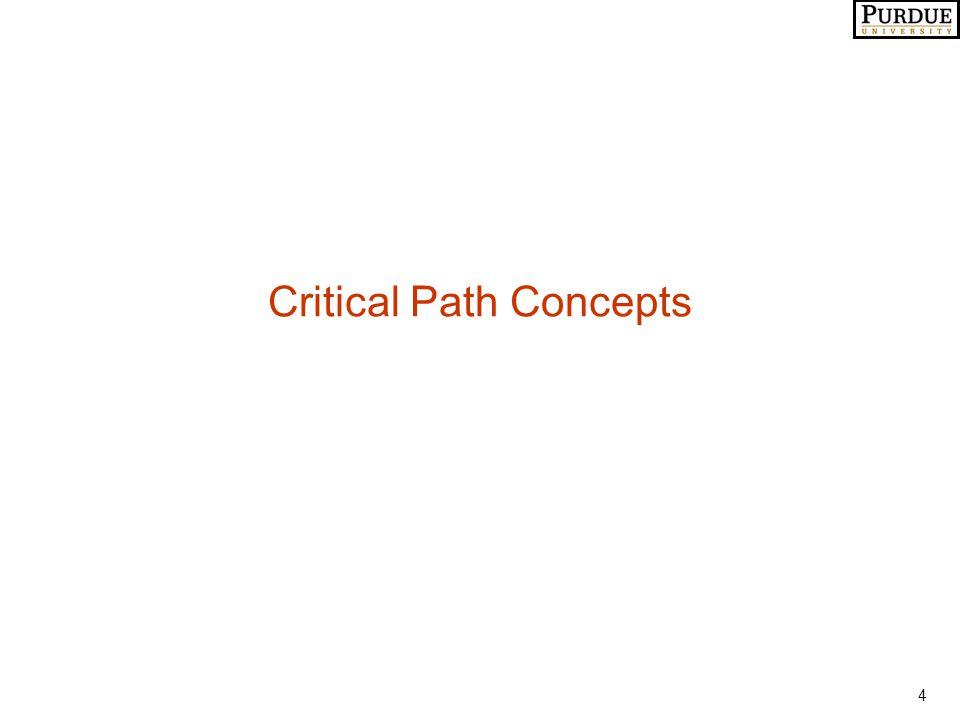 4 Critical Path Concepts