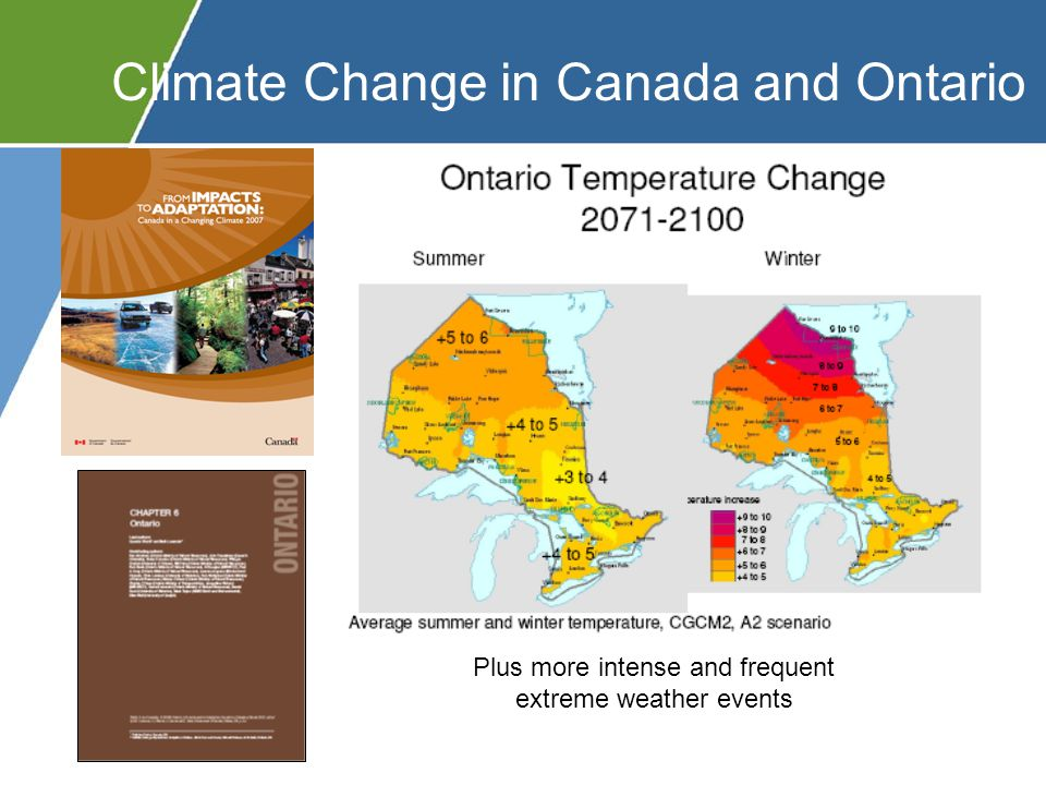 To support and decentralize Canada's response to climate change, Natural Resources Canada (NRCan) is providing $19.8M for the development of six Regional Adaptation Collaborative (RAC) programs as part of their $85.9M commitment (Bali, 2007) Each RAC is made up of Provincial Government departments along with interested partners from the private sector, academia and the broader public sector (including NGOs).