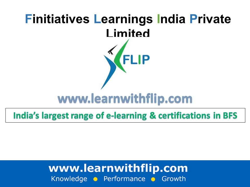 Finitiatives Learnings India Private Limited
