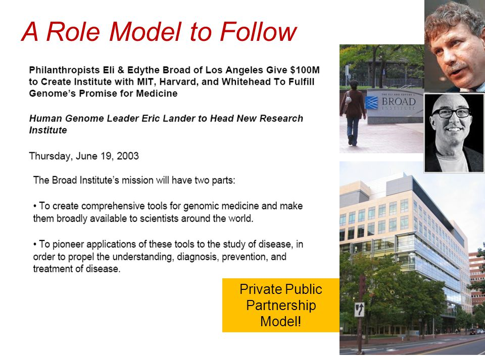 Private Public Partnership Model! A Role Model to Follow