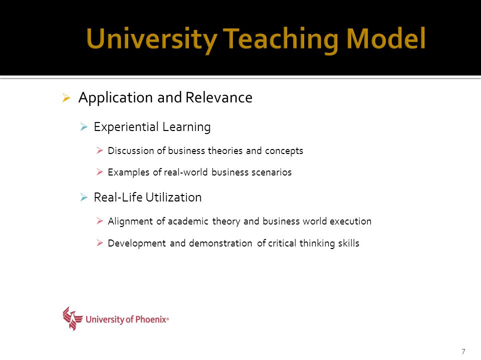  Application and Relevance  Experiential Learning  Discussion of business theories and concepts  Examples of real-world business scenarios  Real-Life Utilization  Alignment of academic theory and business world execution  Development and demonstration of critical thinking skills 7