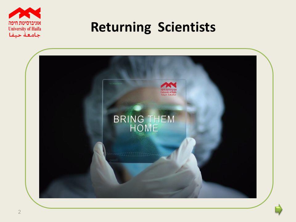 2 Returning Scientists