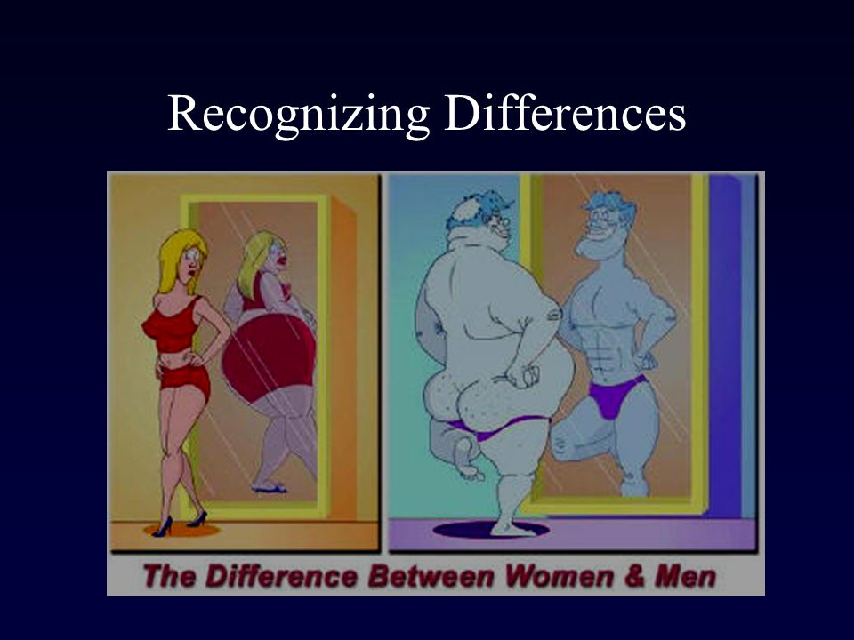 Recognizing Differences