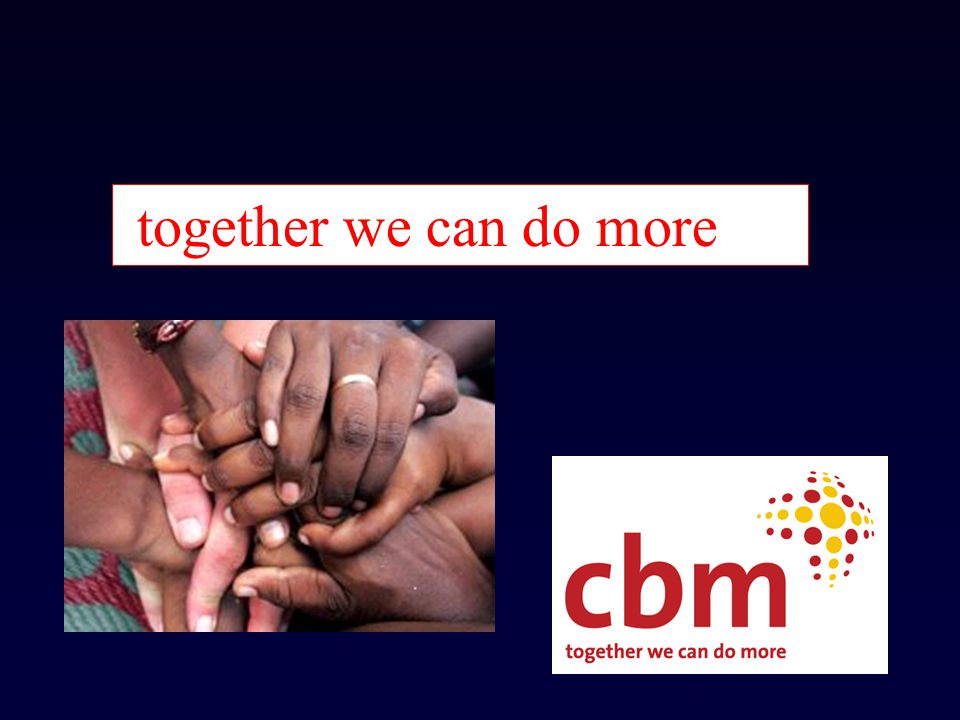 together we can do more