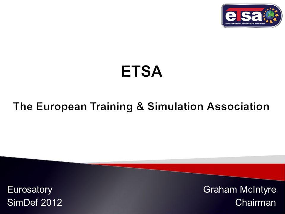 Eurosatory SimDef 2012 Graham McIntyre Chairman