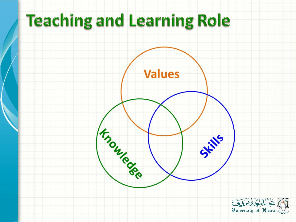 Knowledge Skills Values
