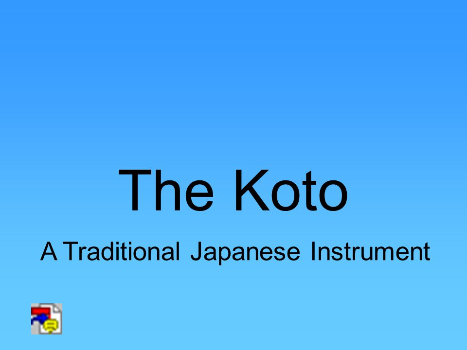 The Koto A Traditional Japanese Instrument