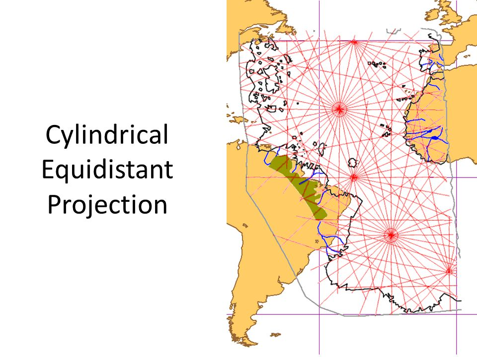 Cylindrical Equidistant Projection
