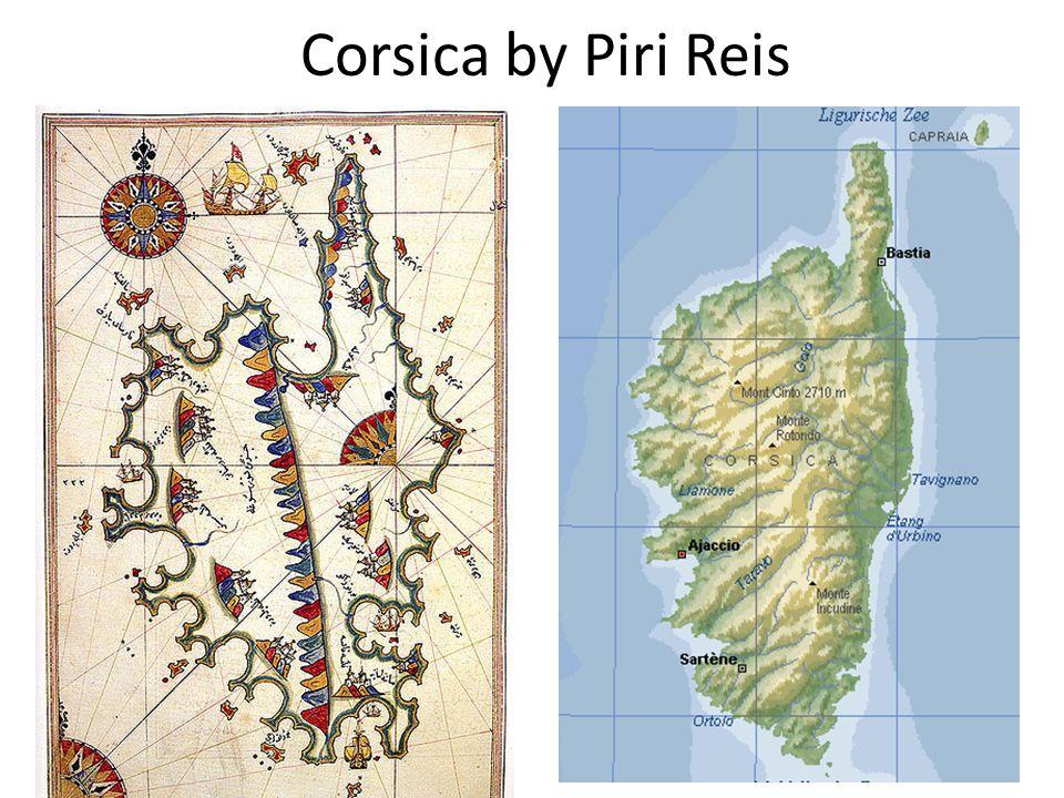Corsica by Piri Reis