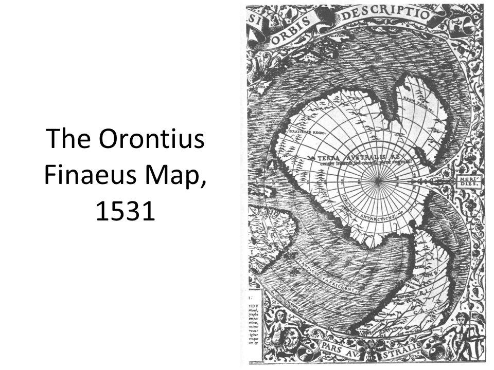 The Orontius Finaeus Map, 1531
