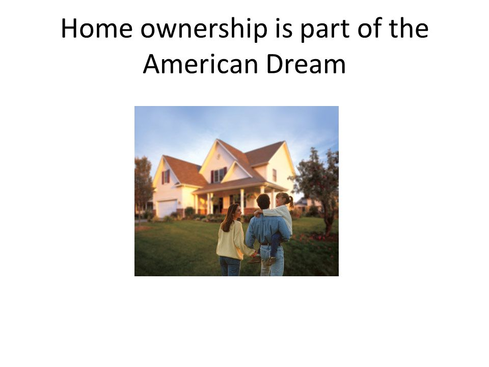 Mortgages help people buy houses Definition: Mortgage—a loan secured by real estate.