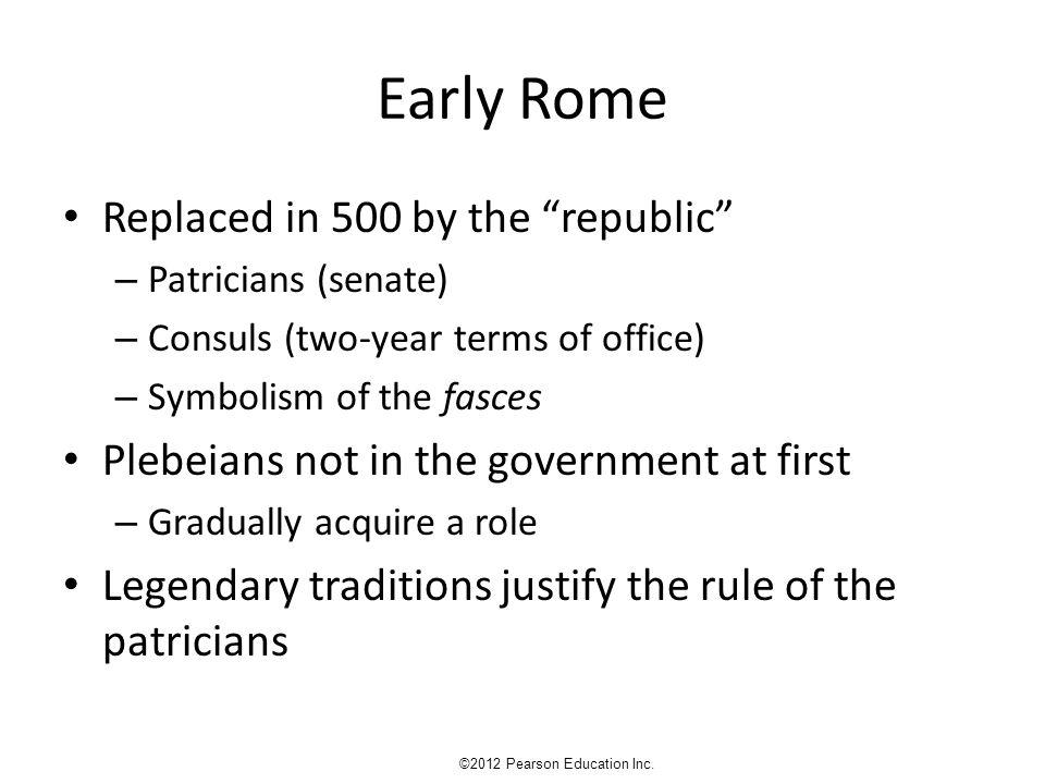 Fig. 23.5 Roman Lares ©2012 Pearson Education Inc. House of the Vettii, Pompeii; author's photo