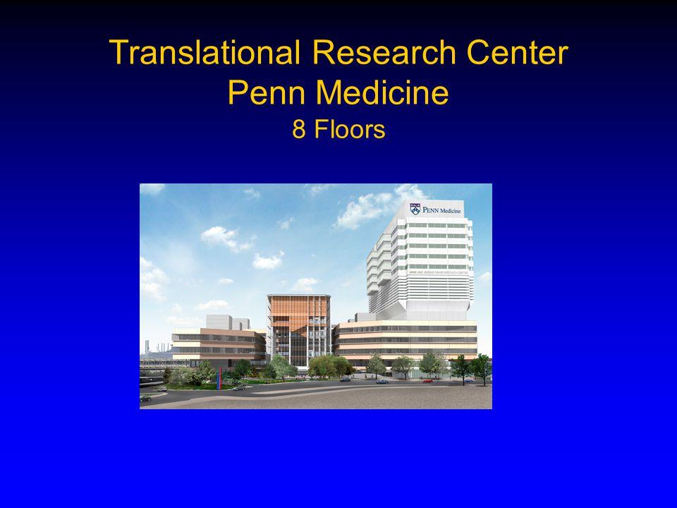 Translational Research Center Penn Medicine 8 Floors