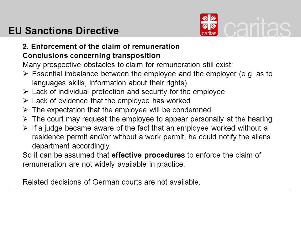 EU Sanctions Directive 2.