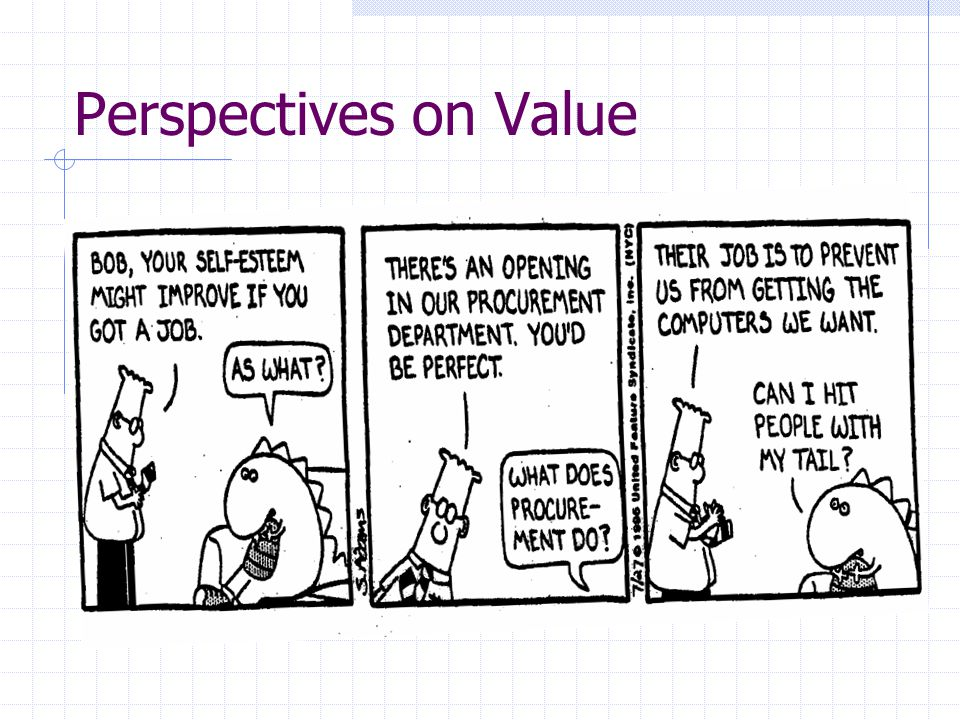 Perspectives on Value