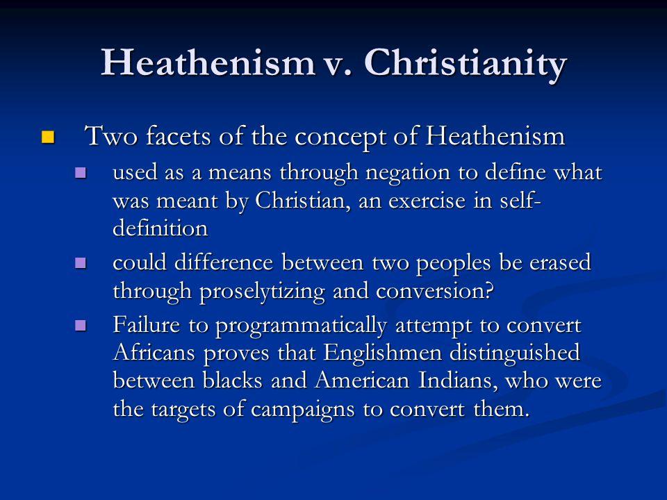 Heathenism v.