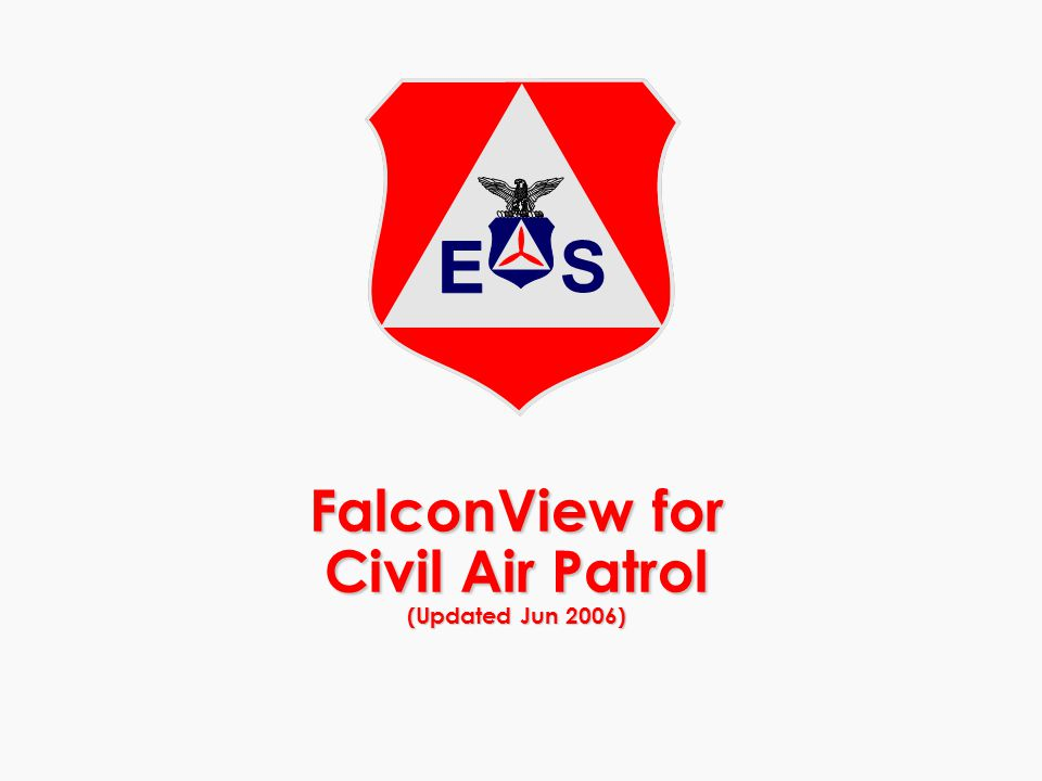 FalconView for Civil Air Patrol (Updated Jun 2006)