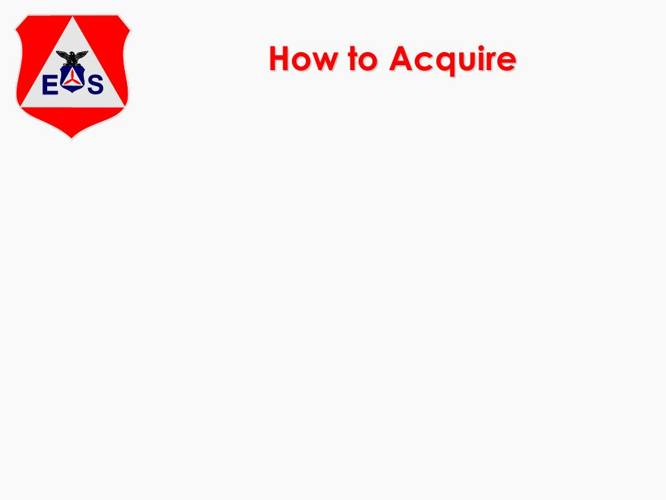 How to Acquire