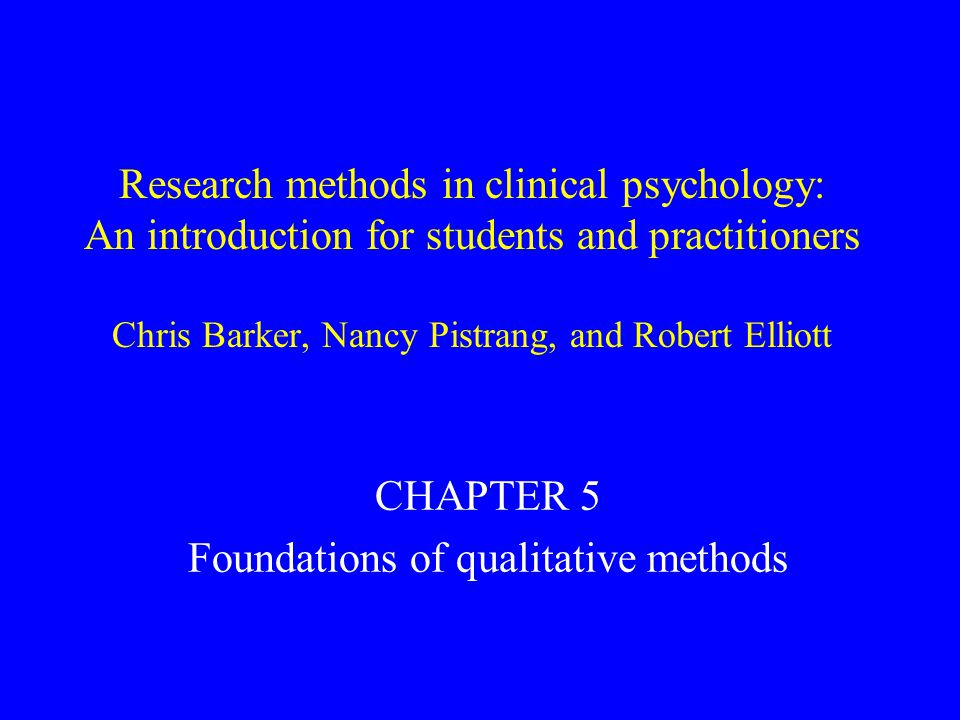 Ways of evaluating qualitative research 1.Owning one's perspective 2.Situating the sample 3.Grounding in examples 4.Providing credibility checks 5.Coherence 6.Accomplishing general v.