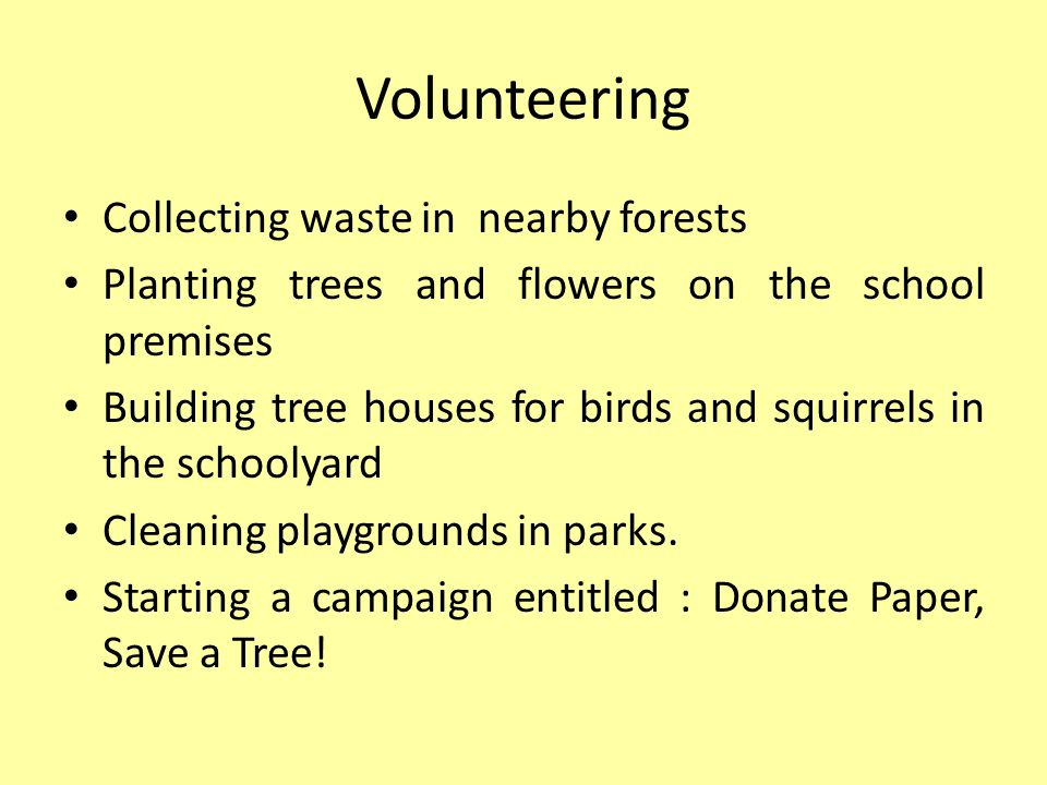 B: Eco Watch Introduced in 2009, this project is aimed at developing civic competence as well as ecological behaviour in both primary and secondary school students.