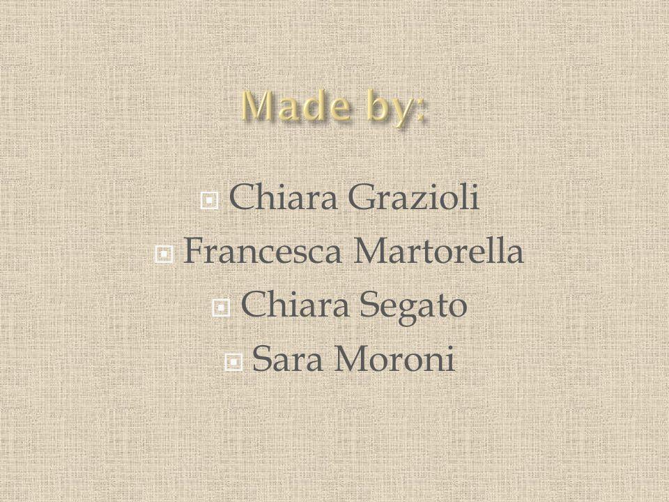  Chiara Grazioli  Francesca Martorella  Chiara Segato  Sara Moroni