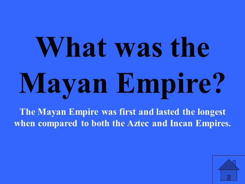 The reason that the end of the Aztec and Incan Empires is different than the end of the Mayan Civilization