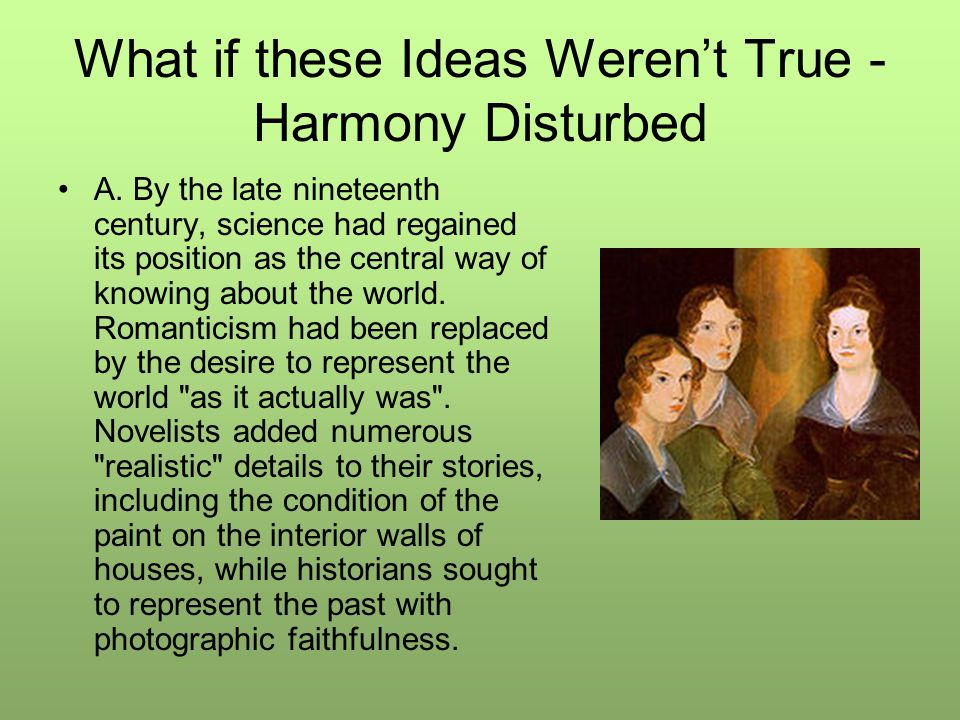 What if these Ideas Weren't True - Harmony Disturbed A.