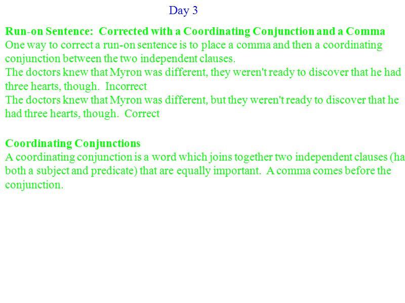 Unclear Antecedent An antecedent is the noun to which a pronoun refers.