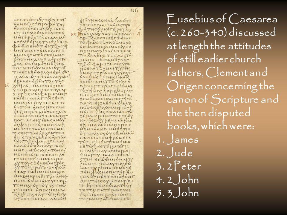 Eusebius of Caesarea (c.