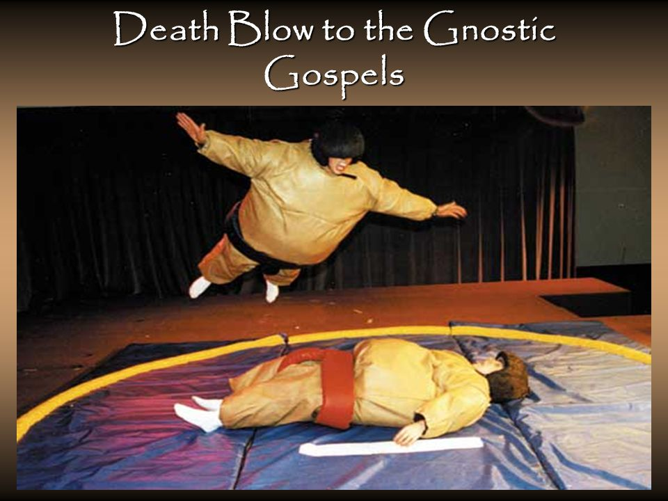 Death Blow to the Gnostic Gospels