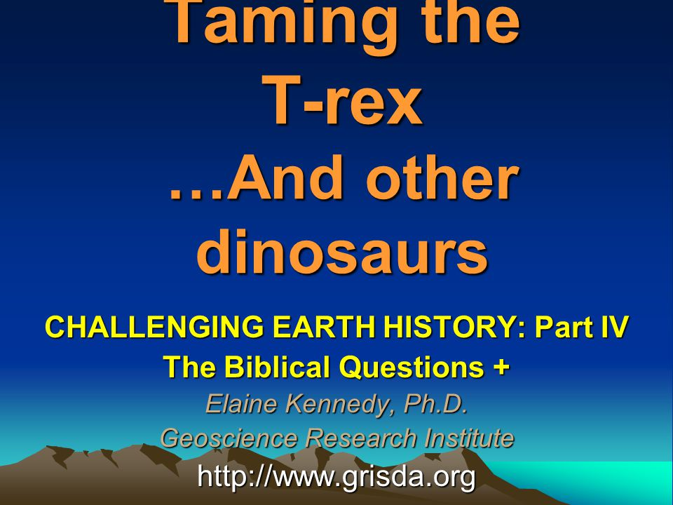 Does the Bible Talk About Dinosaurs?