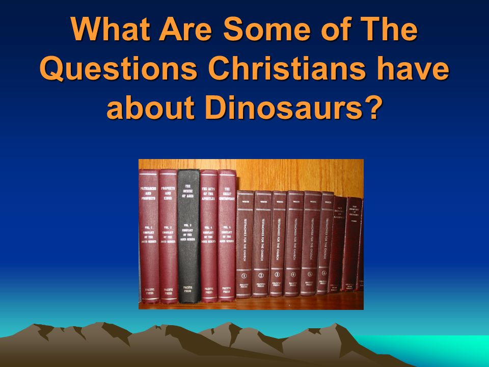 Weren't Dinosaurs too Big for the Ark.