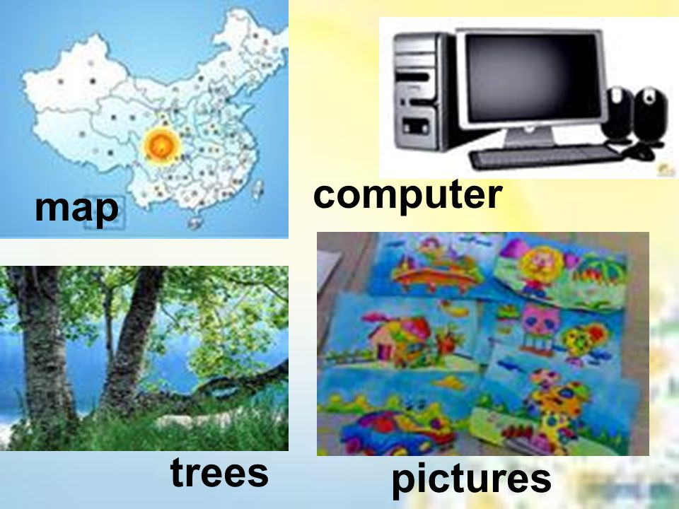 map computer trees pictures