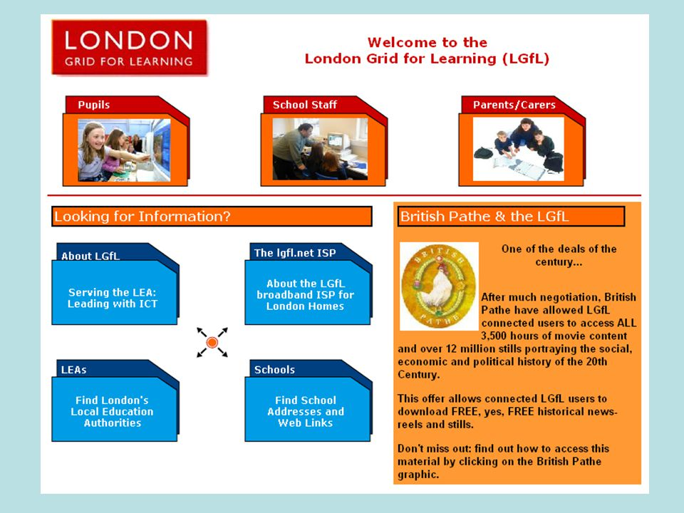 CLEO-LGFL Geography Collaborative Learning Project The project will twin classes in Haringey, North London with ones in Cumbria and Lancashire with a view to developing children's understanding of what it would be like to live in a different locality.