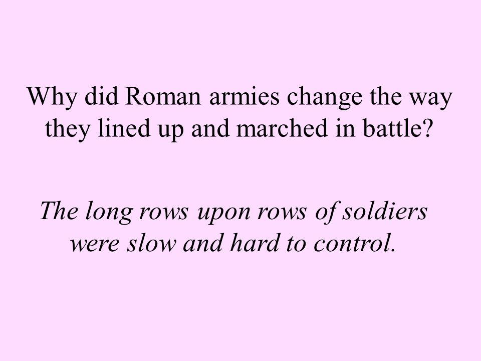 How were deserters in the Roman army punished? They were killed.