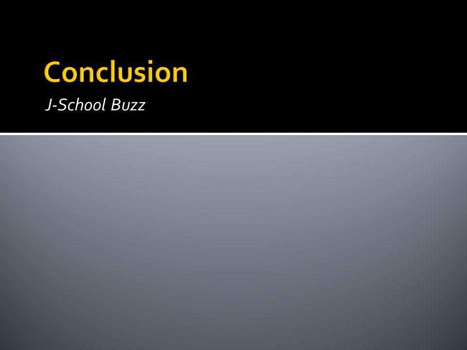 J-School Buzz