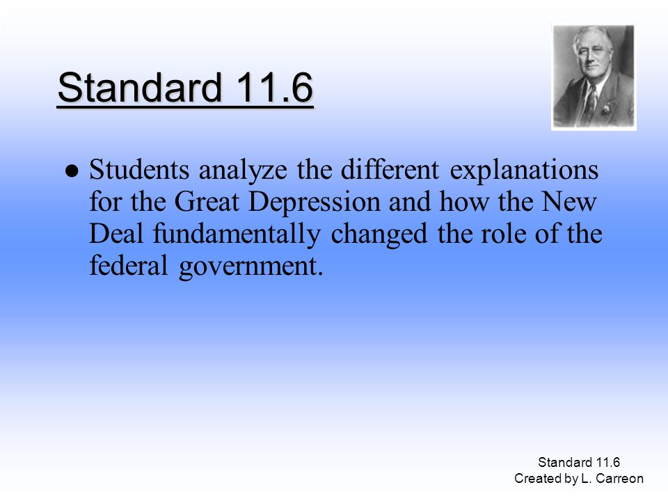 Standard 11.6 Created by L.