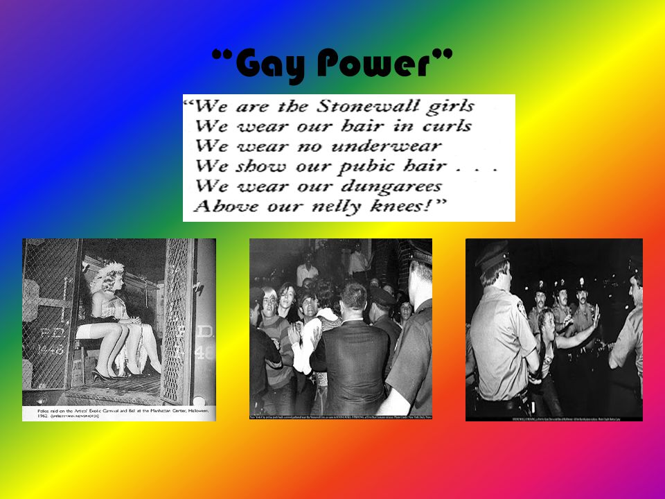 """Gay Power"""