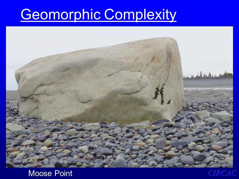 Geomorphic Complexity Moose Point