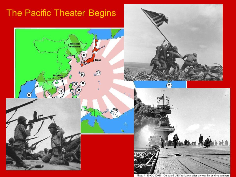 The Pacific Theater Begins