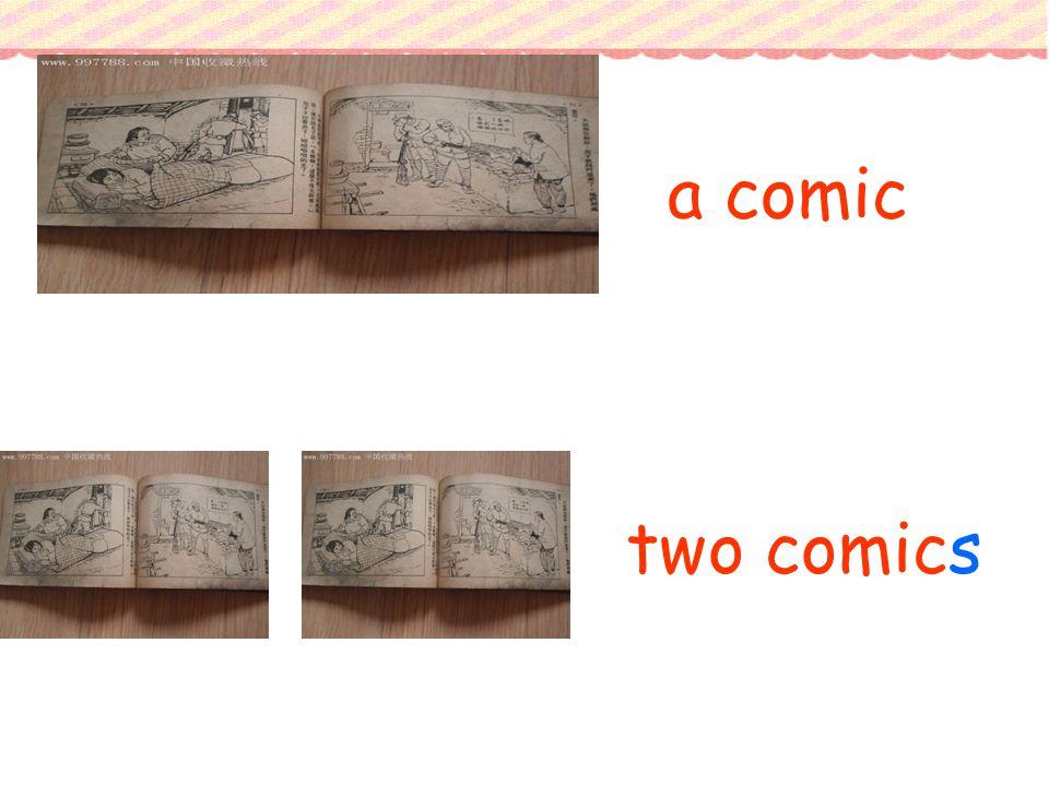 a comic two comics