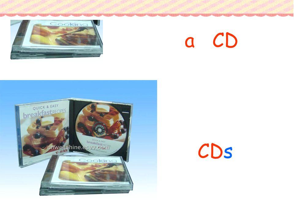 CDs a CD