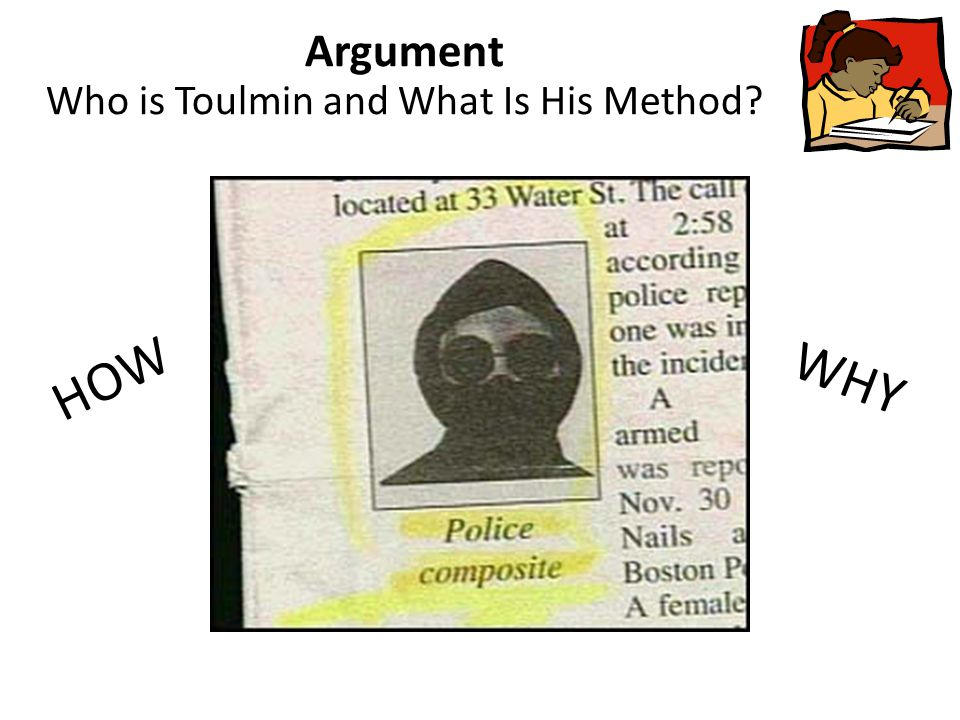 Argument Who is Toulmin and What Is His Method? HOW WHY