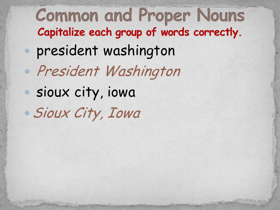 president washington President Washington sioux city, iowa Sioux City, Iowa