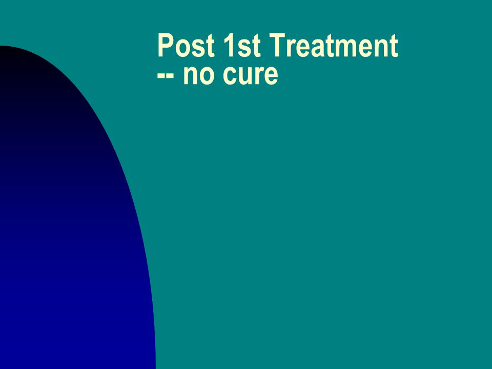 Post 1st Treatment -- cure n passage of time u Nat Pallone n naming in curing n works if it ain't too late