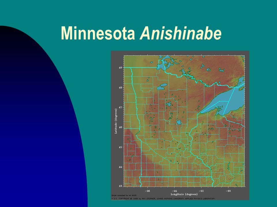 Minnesota Anishinabe
