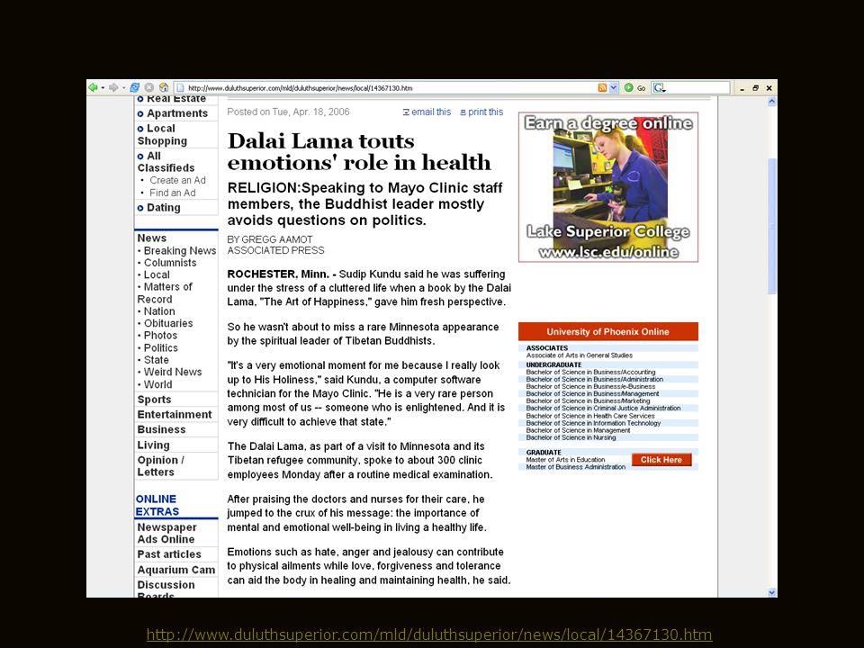 http://www.mayoclinic.org/spotlight/dalai-lama.html
