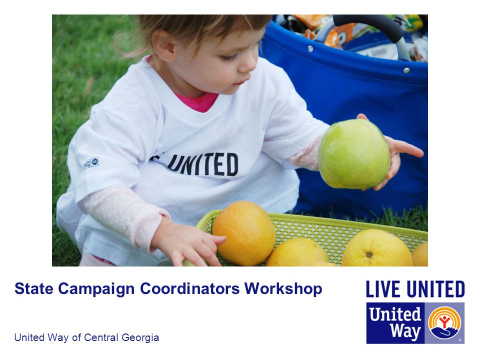 United Way of Central Georgia State Campaign Coordinators Workshop
